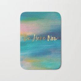 Be Here Now, Ocean Sunrise 4 Bath Mat