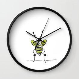 Bees Knees Idiom Wall Clock