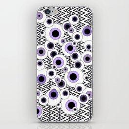 Peekaboo - Purple iPhone Skin