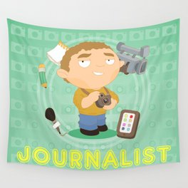 Journalist Wall Tapestry