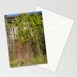 Vines on fence  Stationery Cards