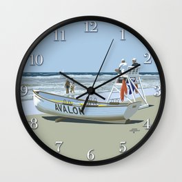 Avalon, Cooler by a Mile Wall Clock
