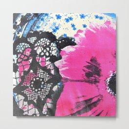 Pink Flower   fleur rose Metal Print