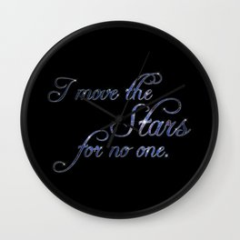 Move The Stars Wall Clock