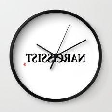 Narcissist Wall Clock