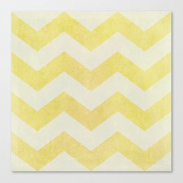 Sun-Kissed Chevron Canvas Print