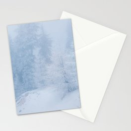 Frozen trees Stationery Cards