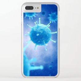 Viruses Clear iPhone Case