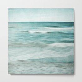 soft waves Metal Print