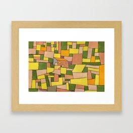 "Paul Klee ""Landhaus (Country house)"" Framed Art Print"