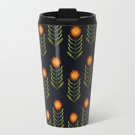 Wildflowers: Hawkweed Pattern Travel Mug