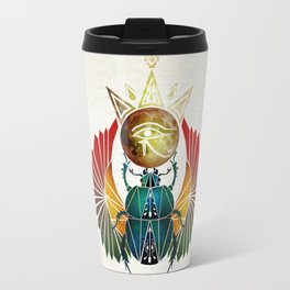 egyptian beetle Travel Mug