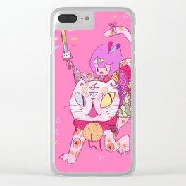Maneki Clear iPhone Case