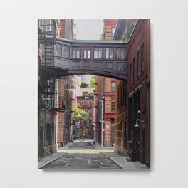 Staple Street Tribeca, NYC Metal Print