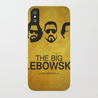 the big lebowski iPhone & iPod Cases featuring The big lebowski by Dehja