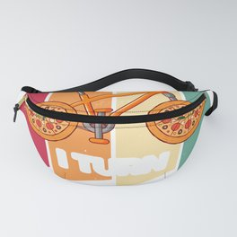 I Turn Pizza Into Miles Cycologist Fanny Pack