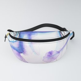 Exhale Original Artwork in Watecolours and Ink Fanny Pack