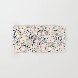 Cream Splatter Hand & Bath Towel