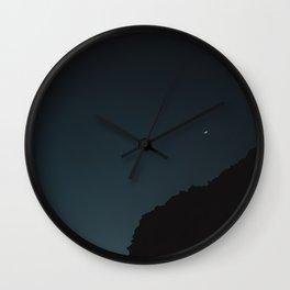 Mexico Moon IV Wall Clock