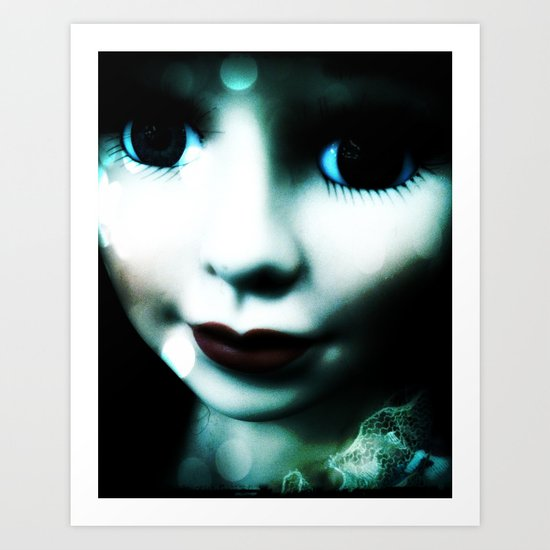 Shadow Girl Art Print