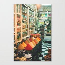 The Spice Market Canvas Print
