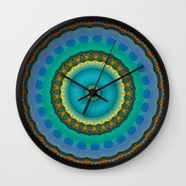 Mosaic Mandala 10 Wall Clock