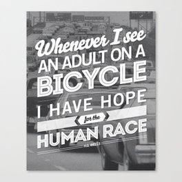 Hope For The Human Race Canvas Print