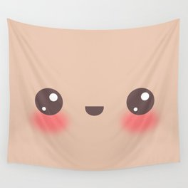 Kawaii Cafe au Lait Wall Tapestry