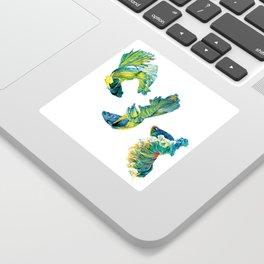 Ocean Dream- Betta Fish Sticker