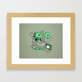 Mr. Gemstone Framed Art Print