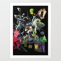 Aleph Fourth way Art Print