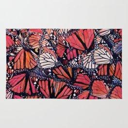 Monarch Butterflies II Rug