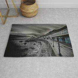 Meadfoot Beach Huts - Digital Rug