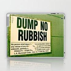 Rubbish Laptop & iPad Skin