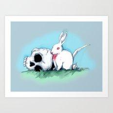 No Ordinary Rabbit Art Print