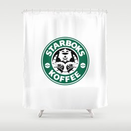 Starboks Koffee Shower Curtain