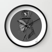 beast Wall Clocks featuring BEAST by alecaballero