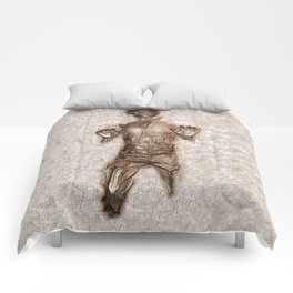 Han Solo In Carbonite Comforters