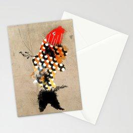 carp_koi_ink Stationery Cards