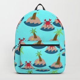 living in paradise Backpack