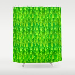 Radioactive Slime Shower Curtain