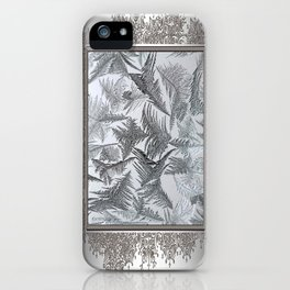 Window Frost iPhone Case