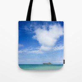 Heart Sea Beach - Hawaii Tote Bag