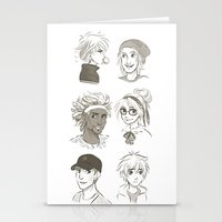 big hero 6 Stationery Cards featuring Big Hero 6 by AndytheLemon
