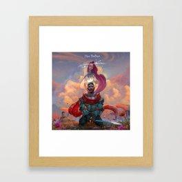 jon bellion angel tour 2019 2020 simukasama Framed Art Print