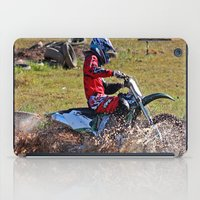 moto iPad Cases featuring Moto Cross by Lone Wolf Photography