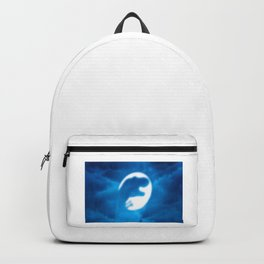 Dinosaur in the moon Backpack