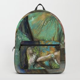 "Edgar Degas ""Strike of the ballerinas"" Backpack"