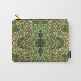 Hawthorn B Fractal Side Carry-All Pouch