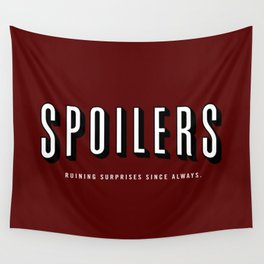 SPOILERS Wall Tapestry